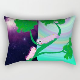 Two Worms and Love Rectangular Pillow