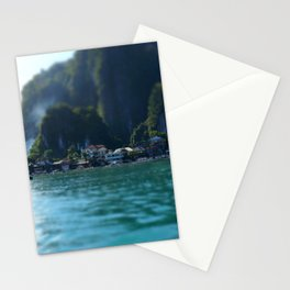 Cliffside village Stationery Cards