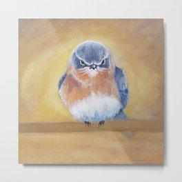 Eastern Bluebird Painting Metal Print