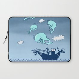Where Have the Whales Gone? Laptop Sleeve