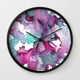 Falling In Wall Clock