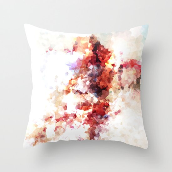 Some say love is a burning thing. Throw Pillow by Mr. Ginger Society6