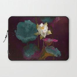 Lotus in Violets. Laptop Sleeve