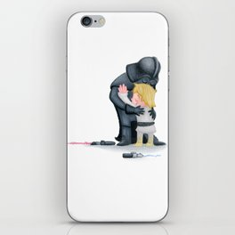 enemies hug I iPhone Skin