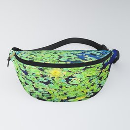 Golden Water Lily Fanny Pack