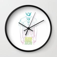 Unique II Wall Clock