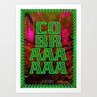 Cobra ! Art Print