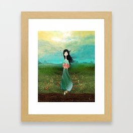 Blazing Glory Framed Art Print