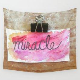 miracle watercolor print Wall Tapestry