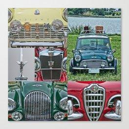 European Autos Canvas Print