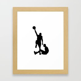 #TheJumpmanSeries, Allen Iverson Framed Art Print
