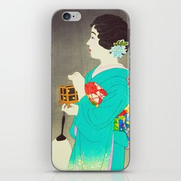 Mushikago - Insect Cage - Japanese Art iPhone Skin