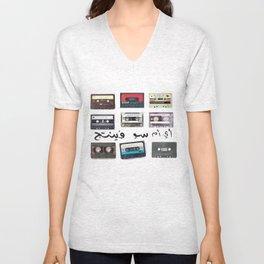 vintage Unisex V-Neck