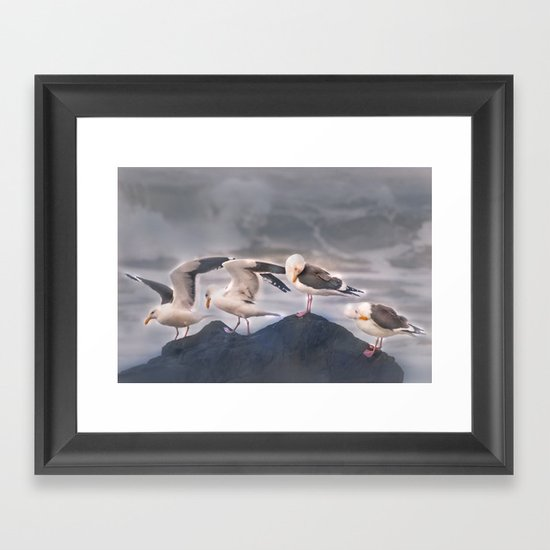 Rock Quartet Framed Art Print