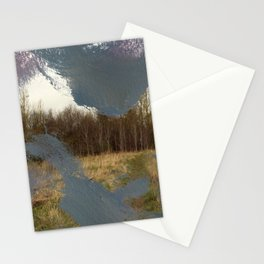 In the Flat Field Stationery Cards