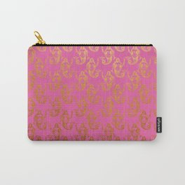 Pink Gold Mermaids Carry-All Pouch