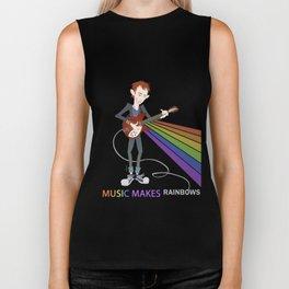 Radiohead Thom in Rainbows Biker Tank