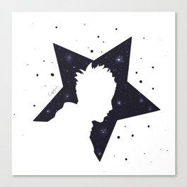 Star Man (Silhouette) Canvas Print