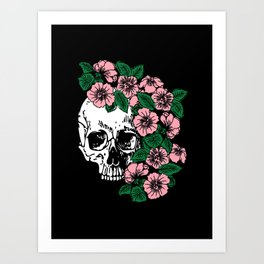The Flourishing Death Art Print