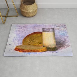 Milk And Bread Rug