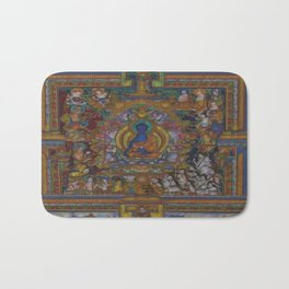 The Medicine Buddha Bath Mat