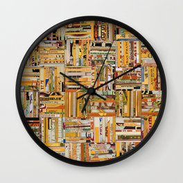 Mit Hopfen (With Hops) Wall Clock