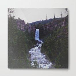 Tumalo Falls Metal Print