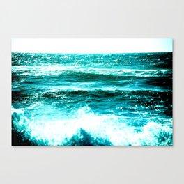 California Ocean Waves Canvas Print