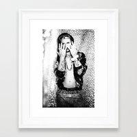 riff raff Framed Art Prints featuring Flashy Riff Raff by chelseysplayground