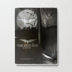 dark knight rises movie fan poster Metal Print