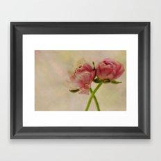 The spring comes Framed Art Print