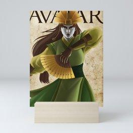 Avatar Kyoshi Mini Art Print