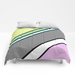 Urban Geometric 2 - Colour At 45 degrees Comforters