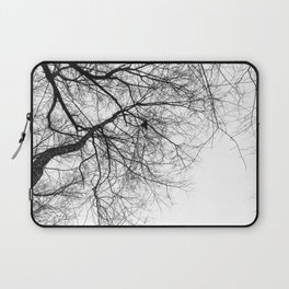 Bare Branches Hold Heart Nest Laptop Sleeve