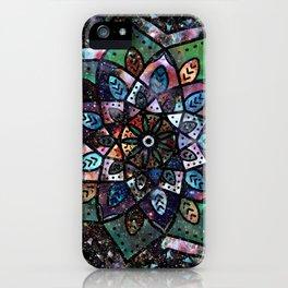 Cosmic Mandala iPhone Case