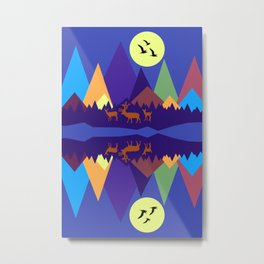 Mountain Scene #3 Metal Print