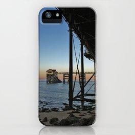 Pier & Posts. iPhone Case