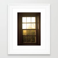 frames Framed Art Prints featuring Frames by kirstenariel