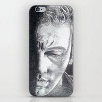 springsteen iPhone & iPod Skins featuring Brilliant Disguise - Springsteen by Roisin Mallon