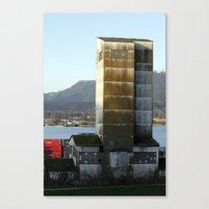 factory abandonment Canvas Print