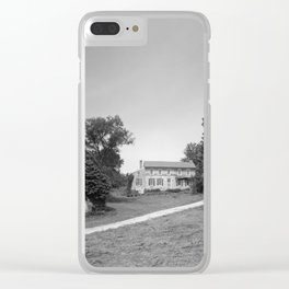 Mill Tract Farm, PA 1958 Clear iPhone Case