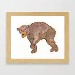 Baloo Framed Art Print