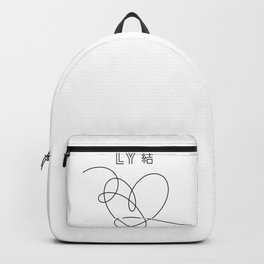 Love Yourself Answer Album Backpack