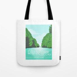 Big Lagoon | Miniloc Island Tote Bag