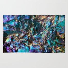 Turquoise Oil Slick Quartz Rug