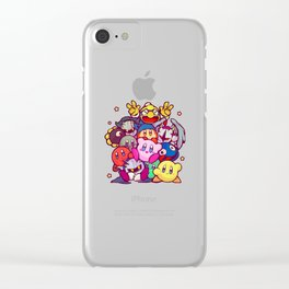 Kirby kirby group Clear iPhone Case