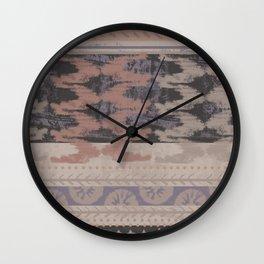 La Maison Pattern 1 Wall Clock