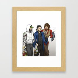 Third Wheelin' It Framed Art Print