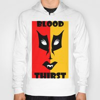 blood Hoodies featuring BLOOD  by Robleedesigns