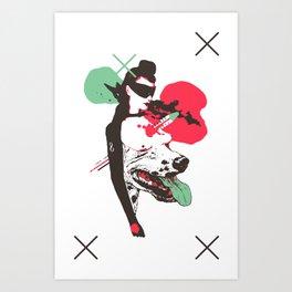 CARD 54 Art Print